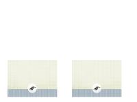 Bedankkaart afstuderen (ontwerp met patronen)