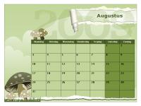 Kalender voor academisch jaar 2009-2010 (aug-aug, ma-zo)