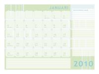 Juliaanse kalender 2010 (ma-zo)