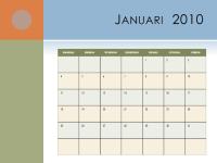 Kalender 2010 (ma-zo)