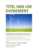 Folder voor evenementen (groen)