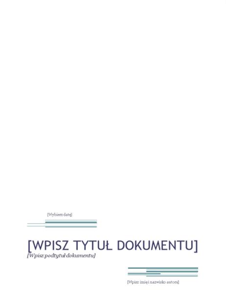 Raport (projekt Wielkomiejski)
