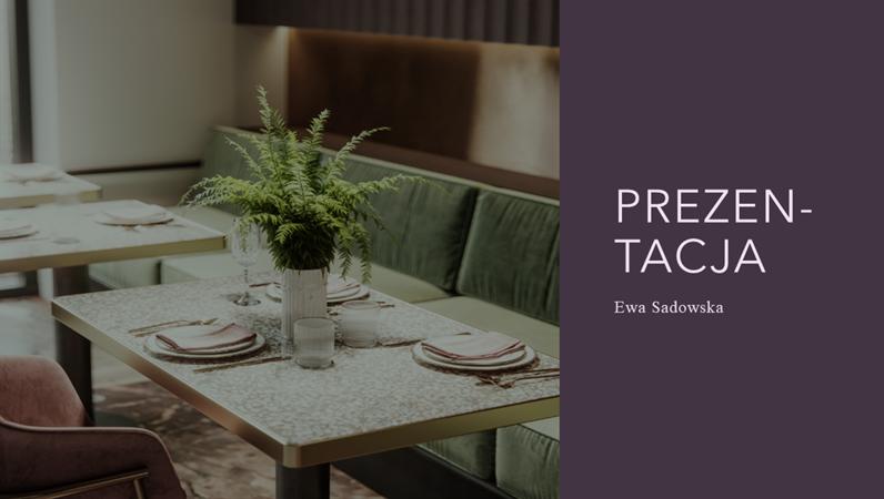 Prezentacja restauracji