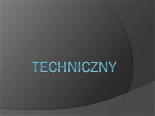 Techniczny