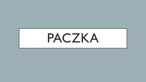 Paczka