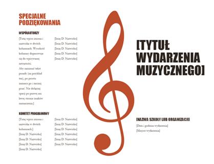 Program muzyczny