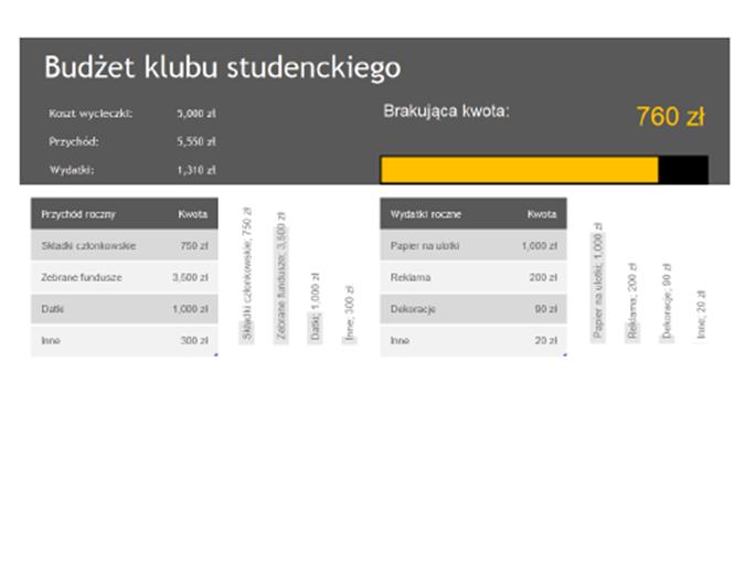 Budżet klubu studenckiego