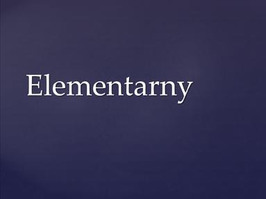 Elementarny