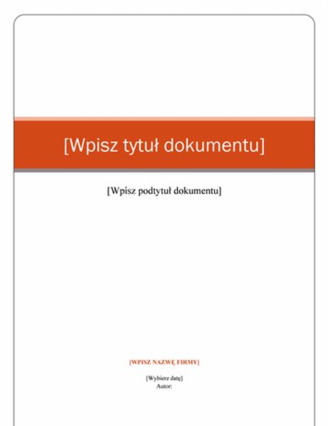 Raport (motyw Kapitał)