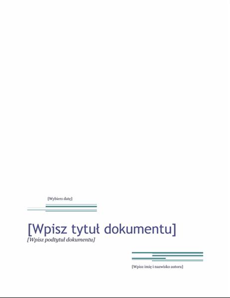 Raport (motyw Wielkomiejski)