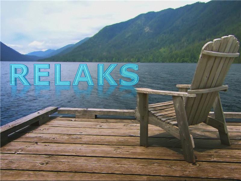 Wypoczynek nad jeziorem (z wideo)