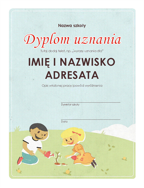 Dyplom (szkoła podstawowa)