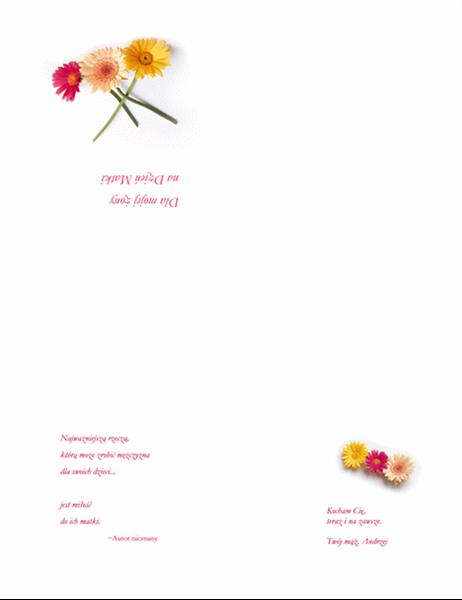 Kartka z okazji Dnia Matki (dla żony)