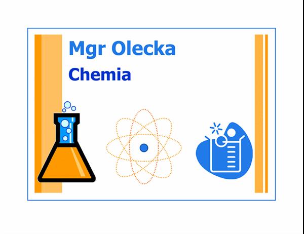 Wizytówka klasy (chemia)