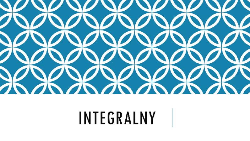 Integralny