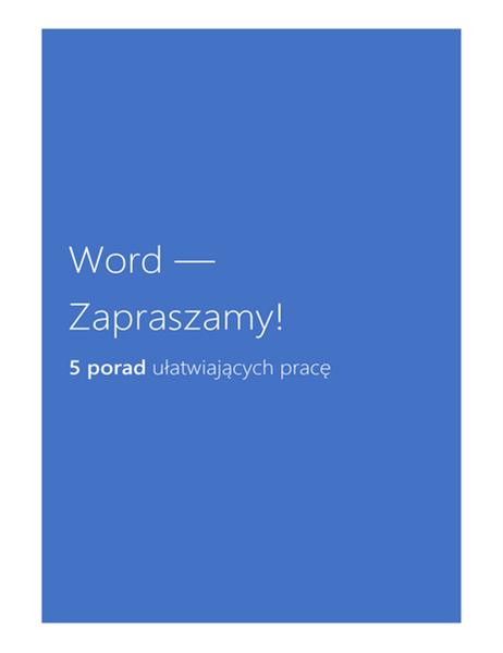 Program Word — Zapraszamy!
