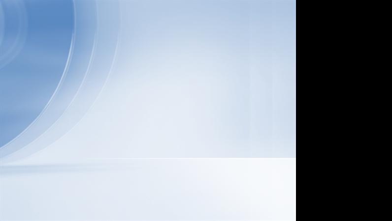 Szablon projektu — współczesny, niebieski