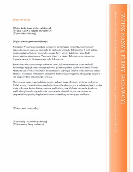 List (projekt Wykusz)