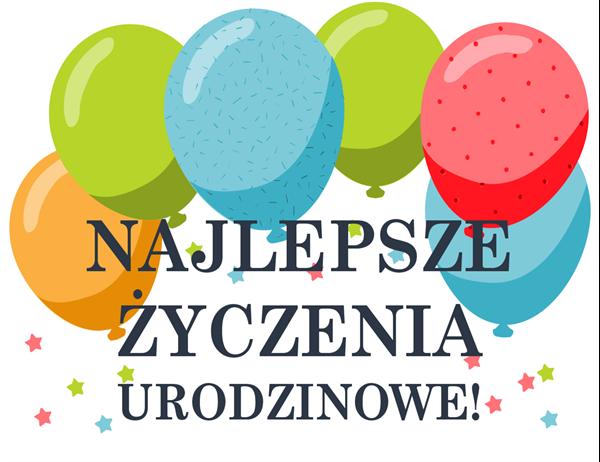 Kartka urodzinowa balony