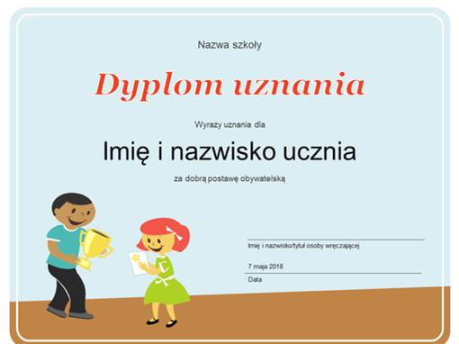 Nagroda (uczniowie szkół podstawowych)