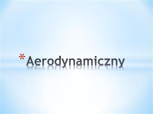 Aerodynamiczny
