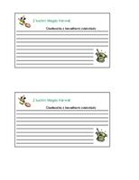 Karty z przepisami (spersonalizowane, 2/str.)