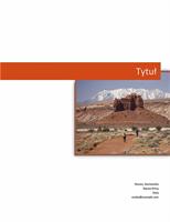 Raport biznesowy (projekt graficzny)