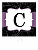 Transparent rocznicowy — motyw Elegancki