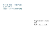 List firmowy i koperta