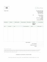 Oferta sprzedaży (motyw Zieleń)