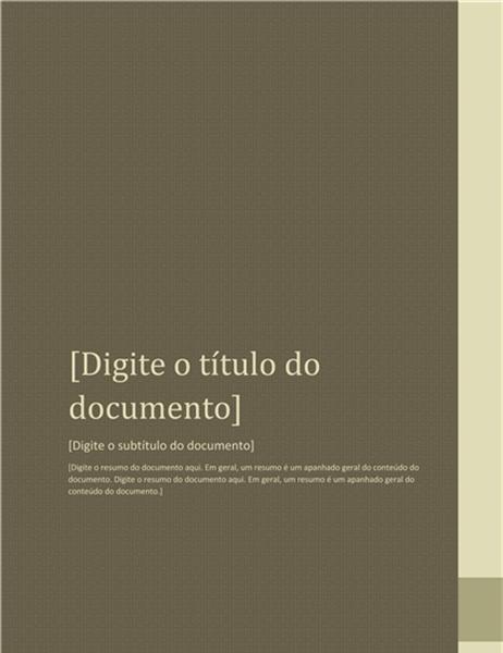 Relatório (design Arredores)