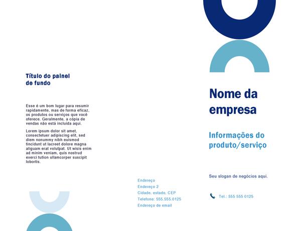 Folheto (design de arco)