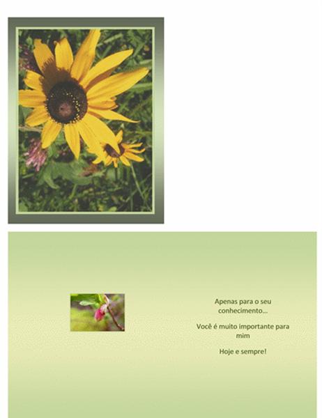Cartão para o dia dos profissionais administrativos