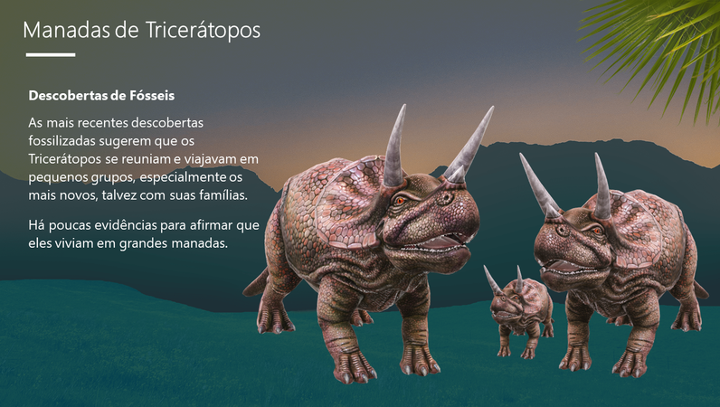 Tricerátopos – O dinossauro com três chifres