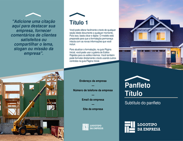 Panfletos para construtor