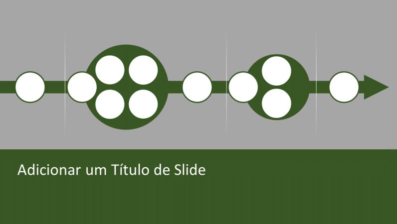 Elemento gráfico de fluxograma de processos