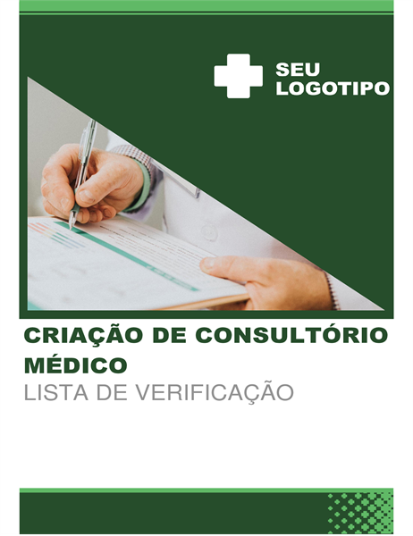 Lista de verificação de empresa startup de assistência médica