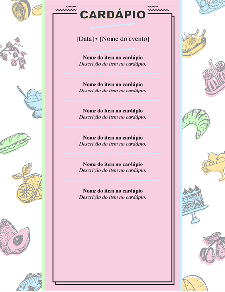 Menu Retrô