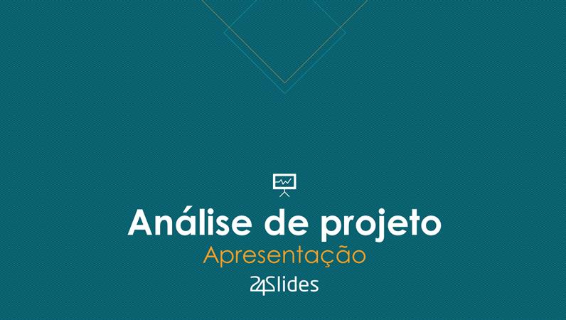 Análise de projeto da 24Slides
