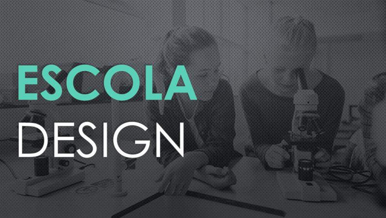 Projeto escolar de ciências (design Malha)
