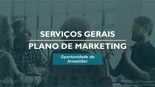 Plano de marketing de serviços profissionais