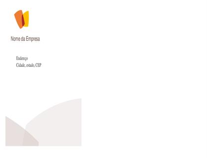 Envelope para empresas do setor financeiro