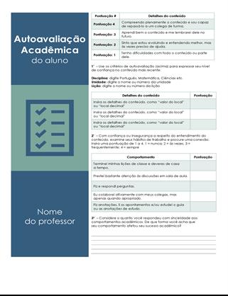 Autoavaliação acadêmica do aluno