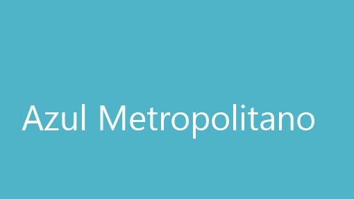 Azul Metropolitano