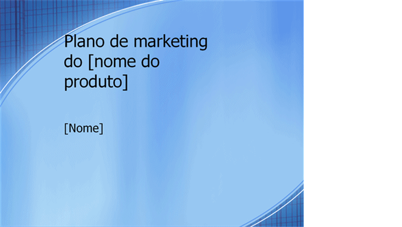 apresenta u00e7 u00e3o de plano de marketing