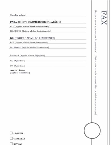 Fax (tema Balcão Envidraçado)