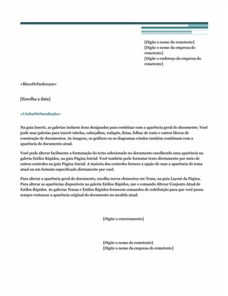 Carta de mala direta (tema Urbano)