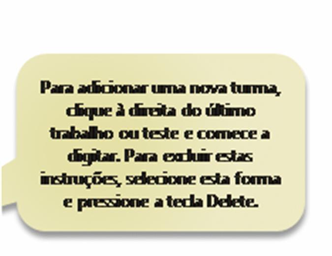 Boletim de notas com relatório do progresso do aluno imprimível