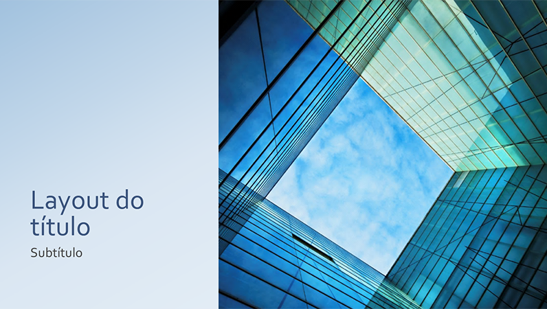 Apresentação de marketing e negócios de cubo de vidro (widescreen)