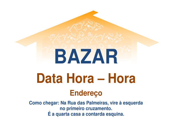 Panfleto de bazar